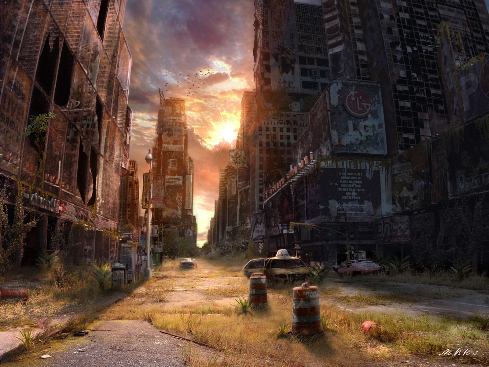 Post Apocalypse 1081737 Hd Wallpaper Backgrounds Download