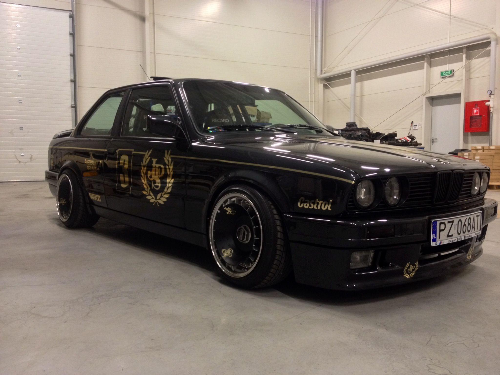 Jps Bmw E30 M3 Black Bbs Wheels E30 1083398 Hd Wallpaper Backgrounds Download