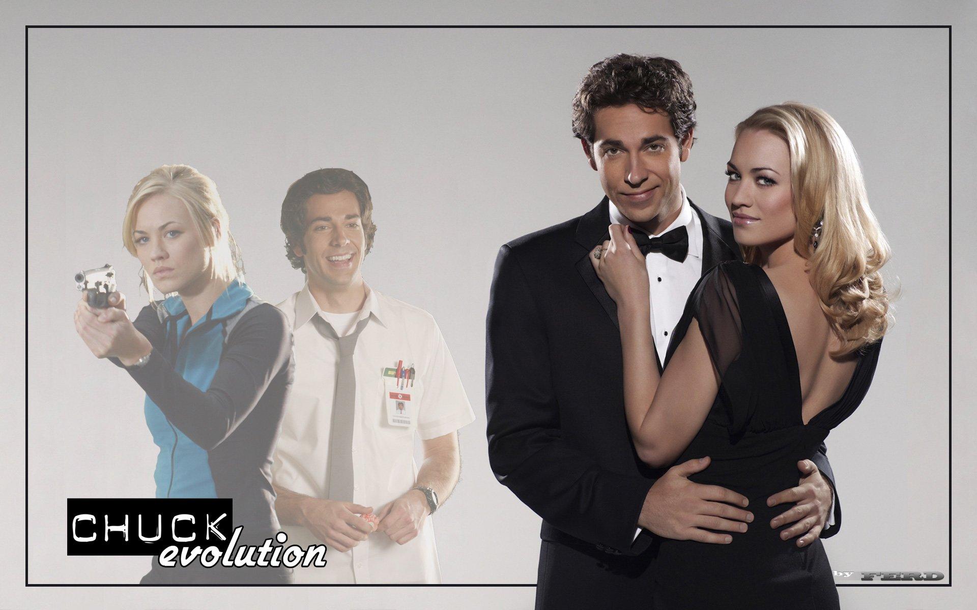 Chuck Wallpaper - Chuck Season 4 Dvd Cover , HD Wallpaper & Backgrounds