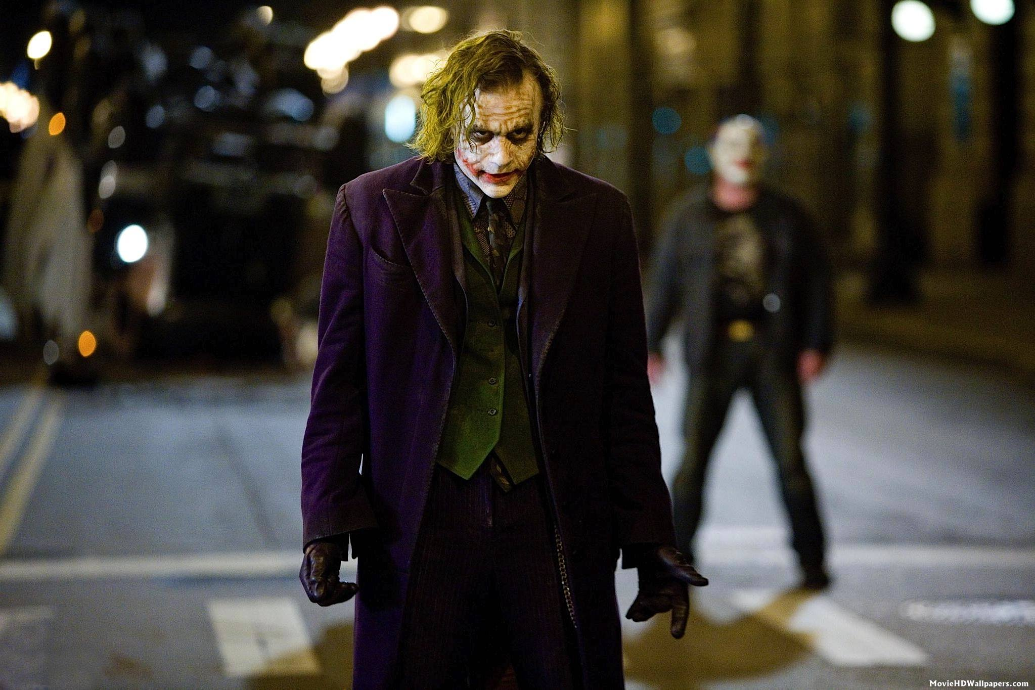 Heath Ledger Joker Wallpapers Wallpaper Cave Dark Knight