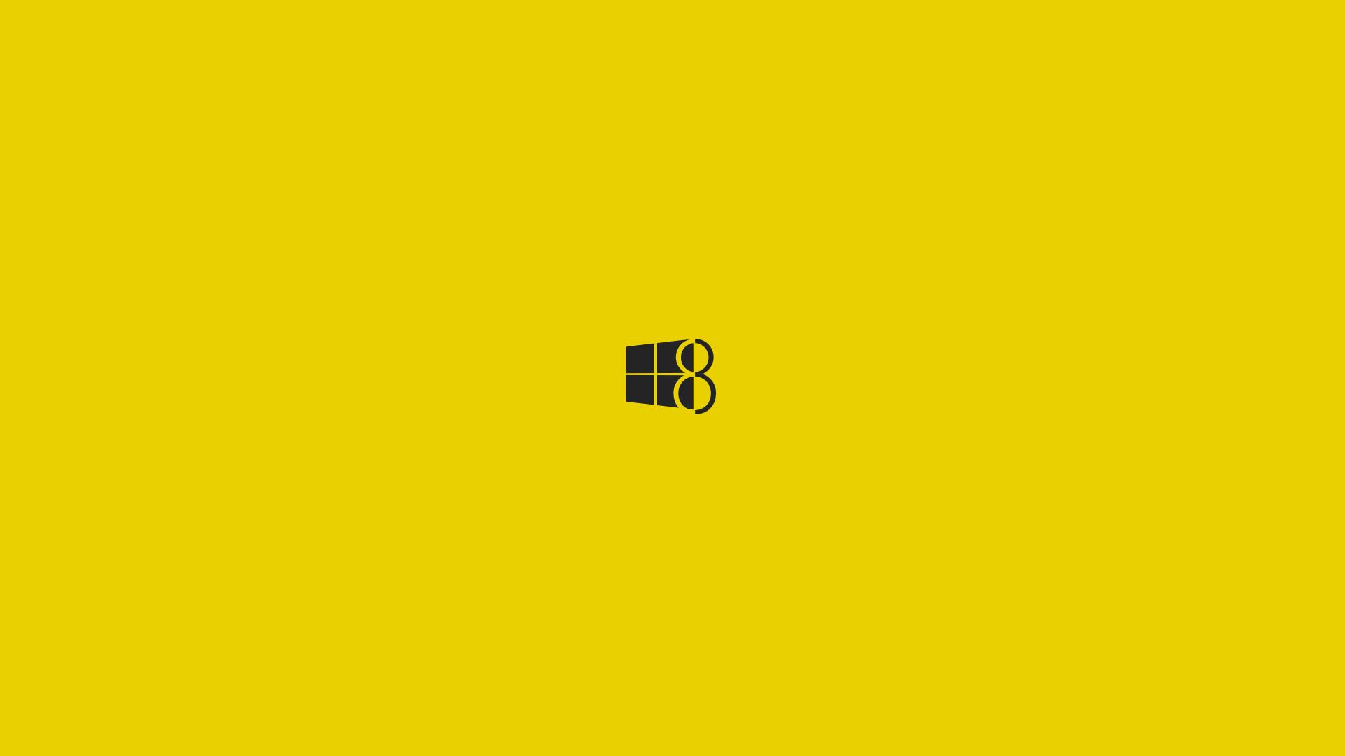 Windows 8 Black Yellow Nt Green Illustration 1091226