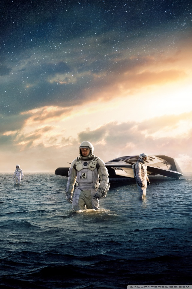 Mobile Hvga - Interstellar Movie Hd Poster , HD Wallpaper & Backgrounds