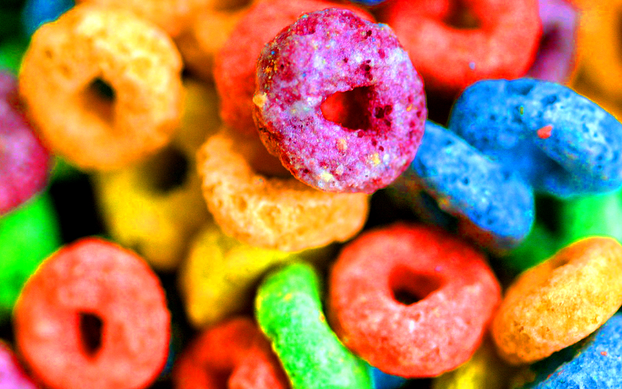 Colorful Cereal Wallpaper Froot Loops 1096697 Hd