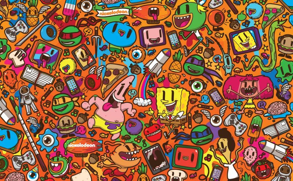 Patrick Star Nickelodeon Spongebob Squarepants Jared