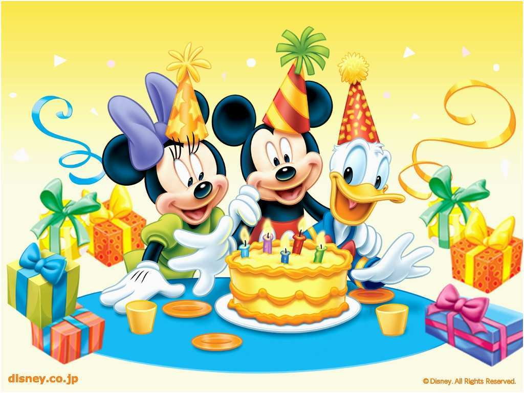 Kids Birthday Wallpaper Mickey And Minnie Mouse Birthday