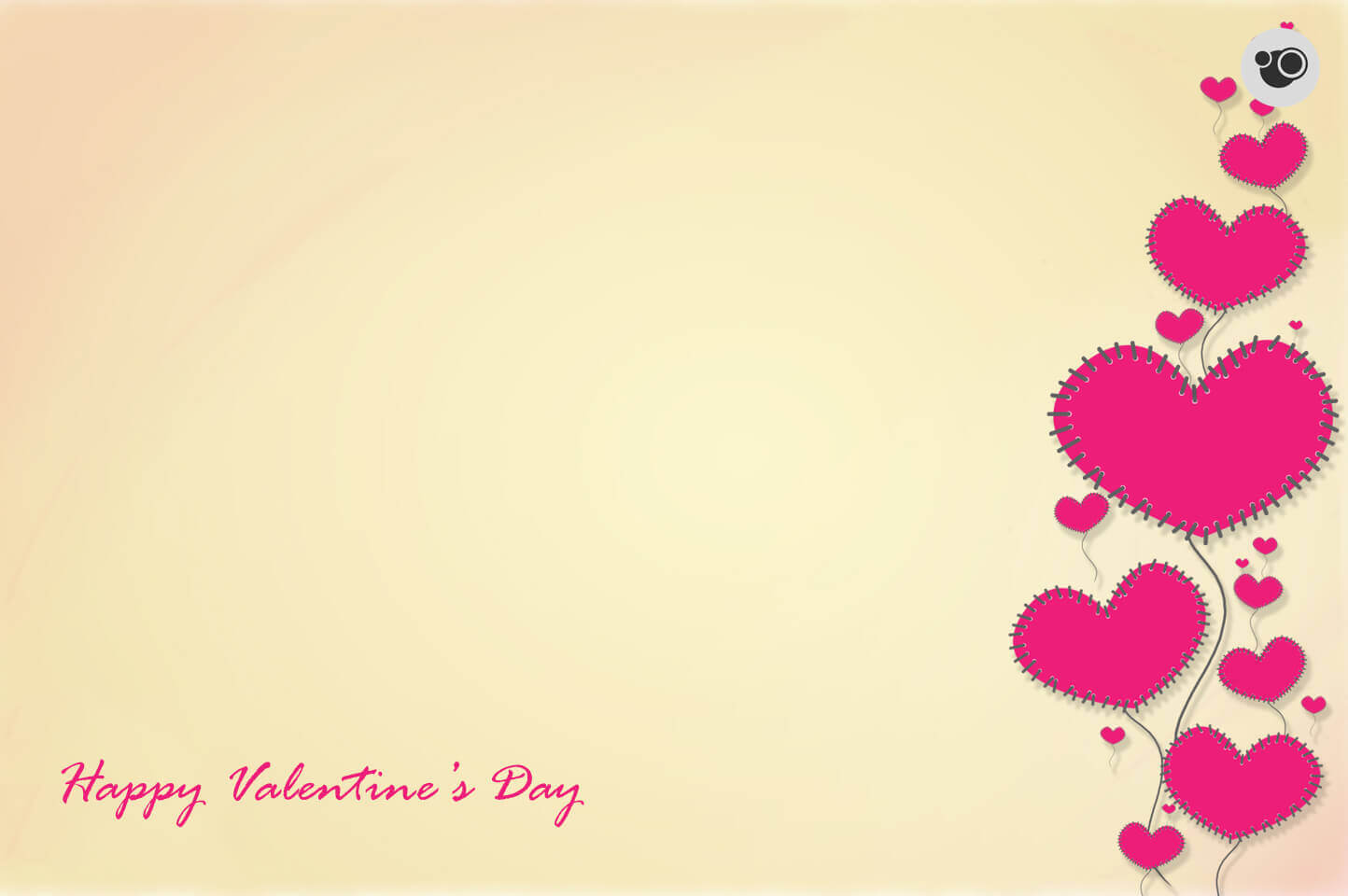 Light Color Valentine Day Hd Wallpaper Download Free - Happy Valentine Day 2019 Background , HD Wallpaper & Backgrounds