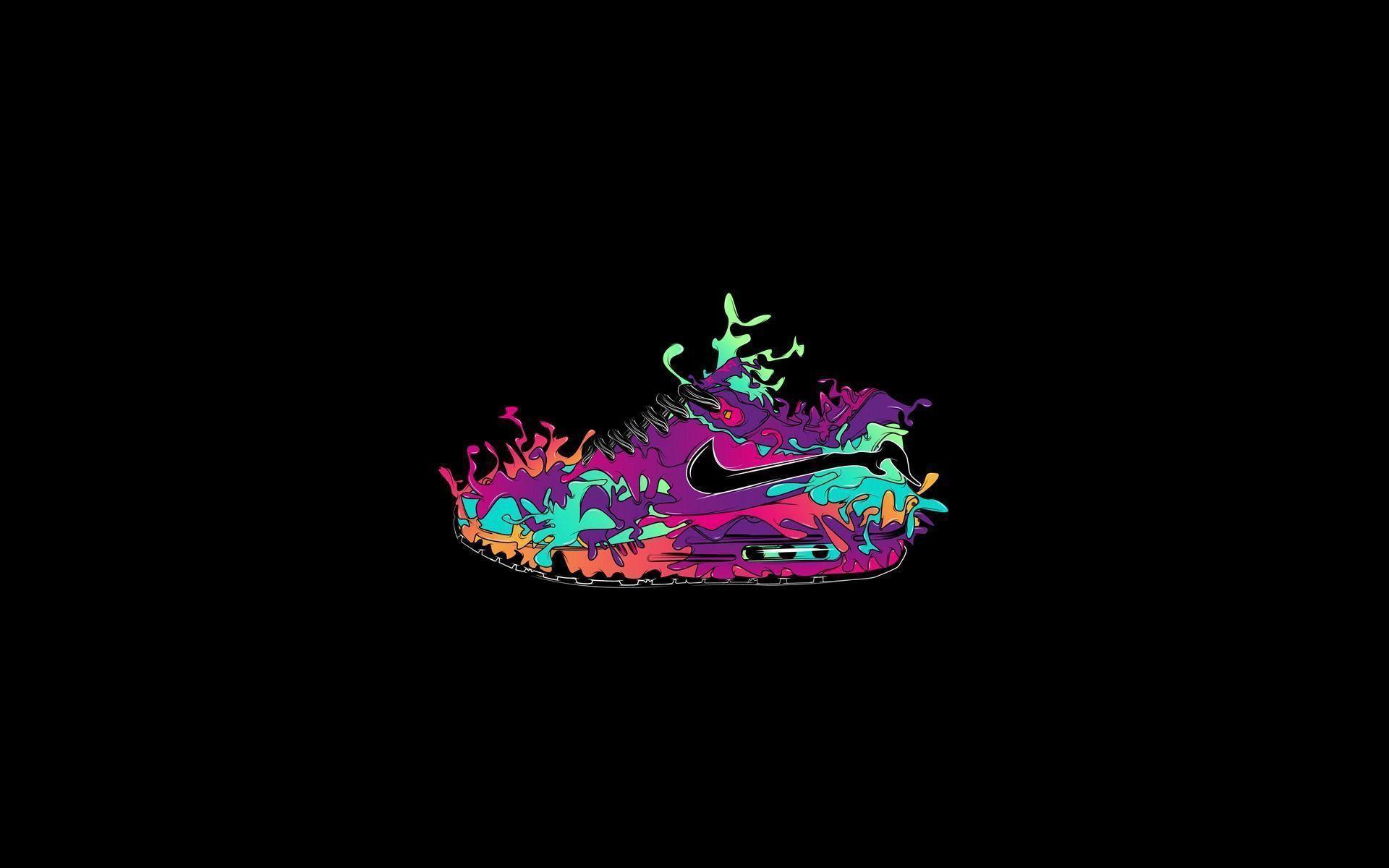 Mininalism Nike Creative Design Wallpaper Hd Poster