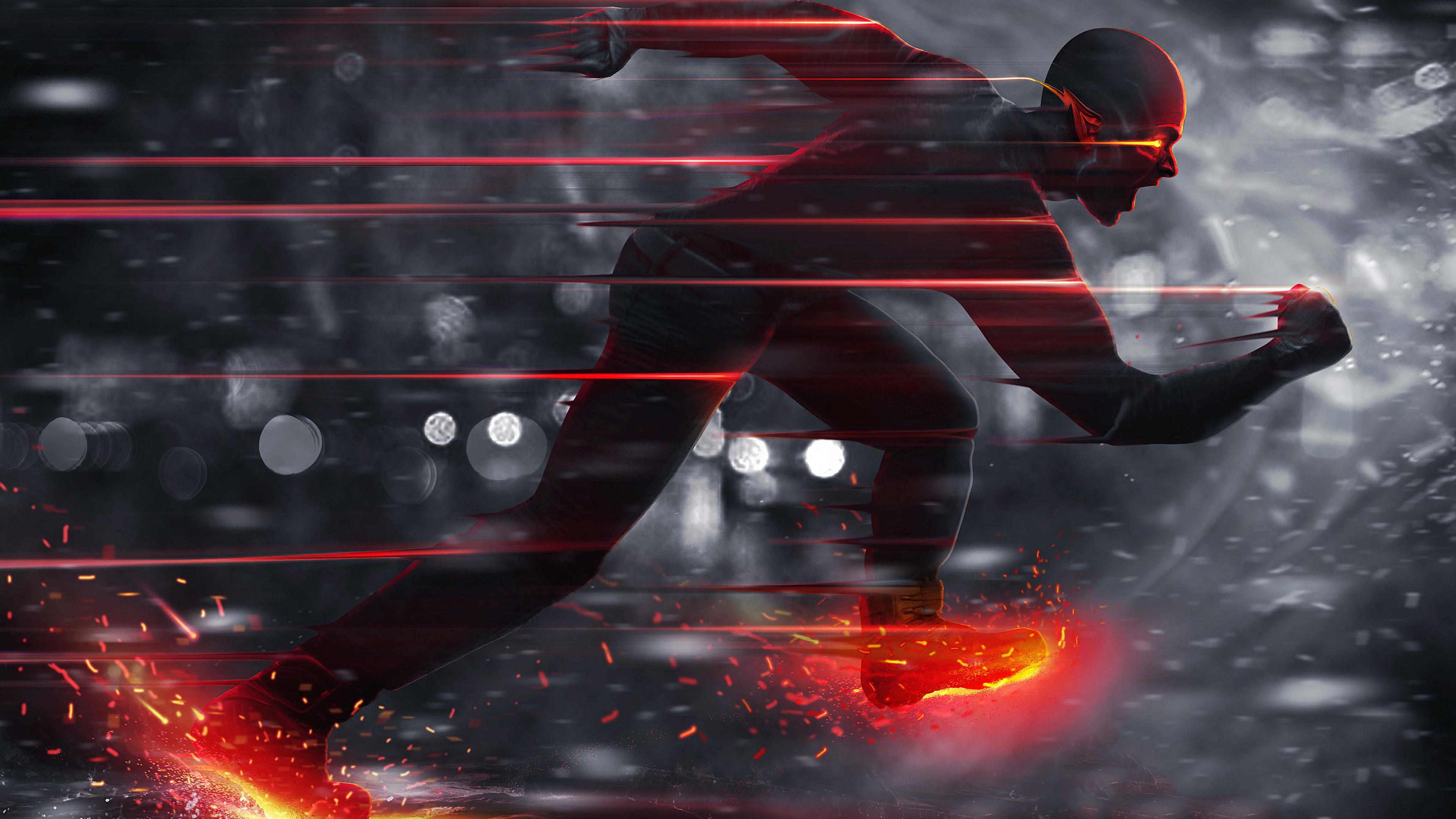The Flash Cosplay 4k Wallpaper - Flash 4k (#112424) - HD Wallpaper &  Backgrounds Download