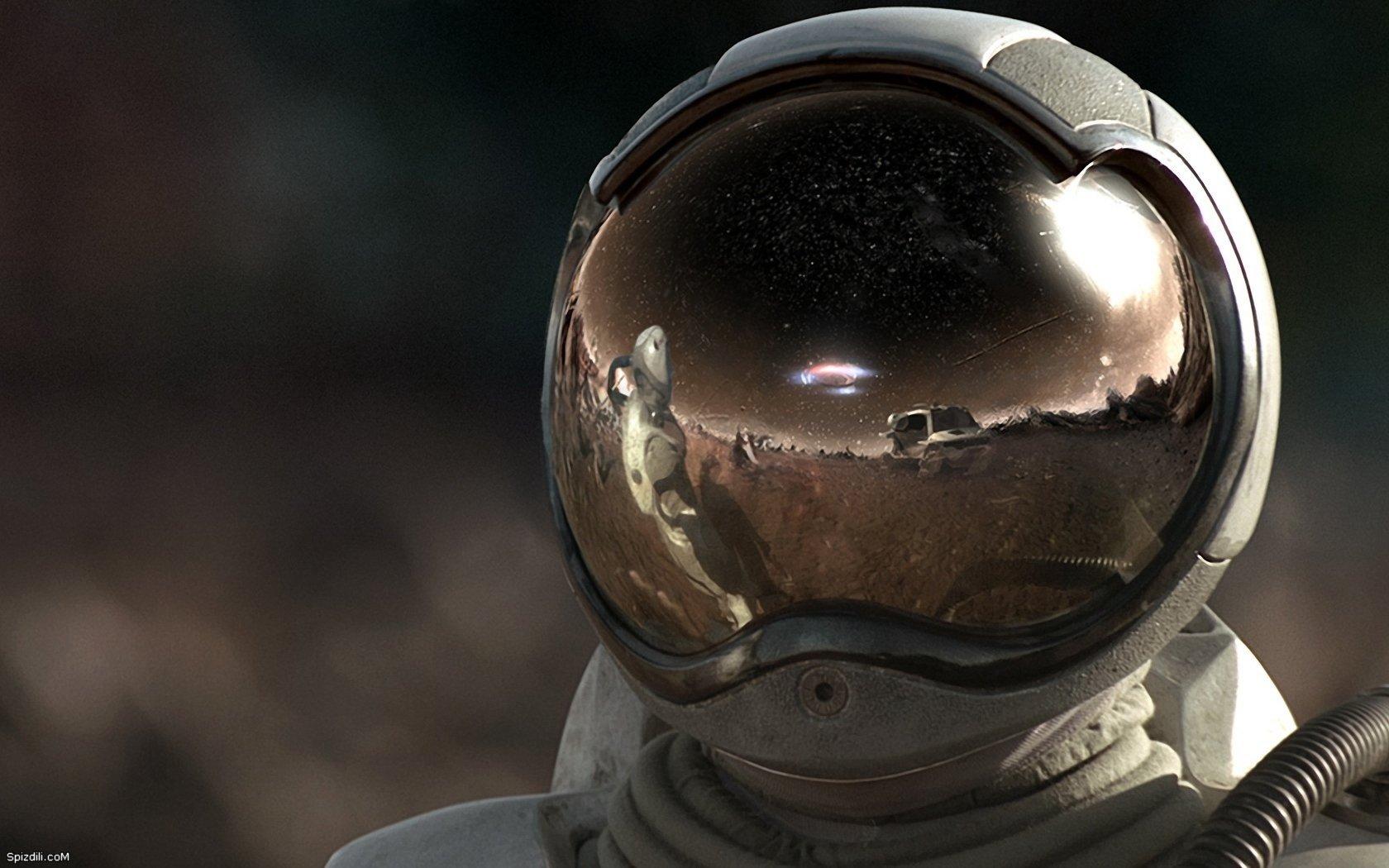 Outer, Space, Helmet, Astronauts, Alien Wallpapers - Space Alien , HD Wallpaper & Backgrounds