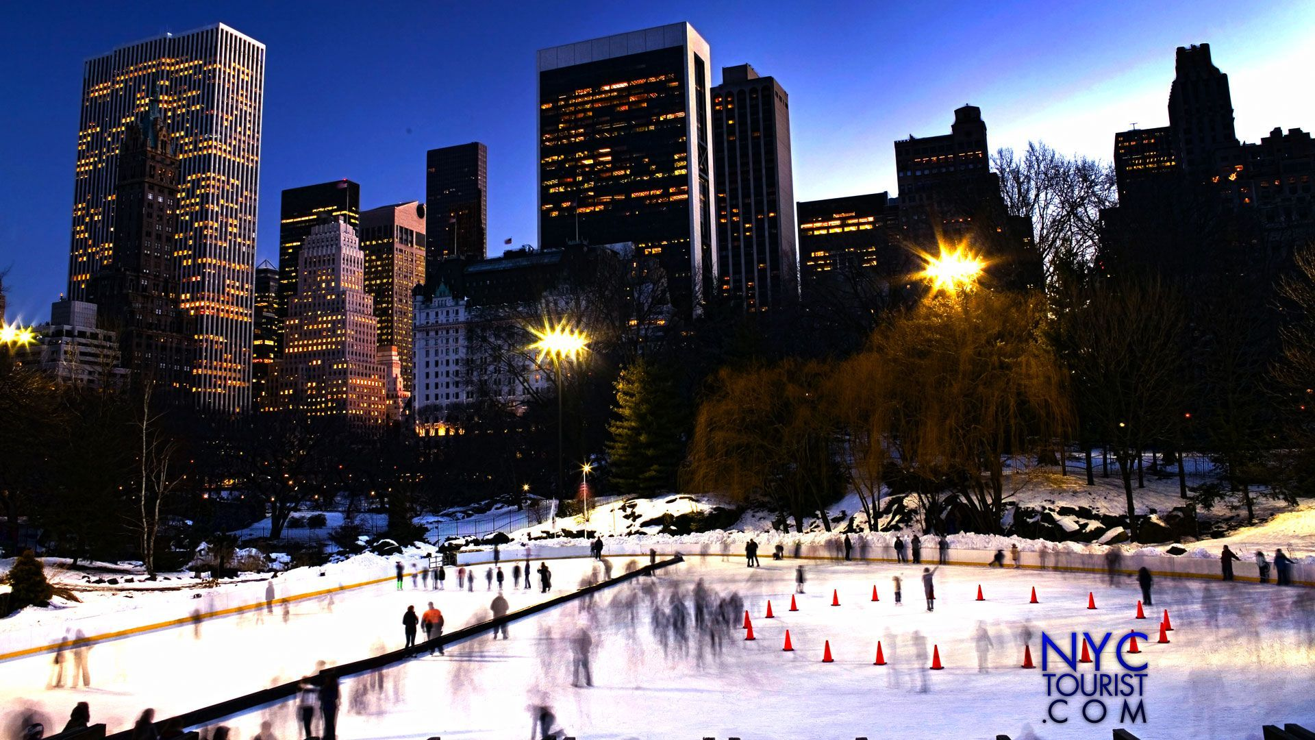 Wollman Skating Rink - New York City , HD Wallpaper & Backgrounds