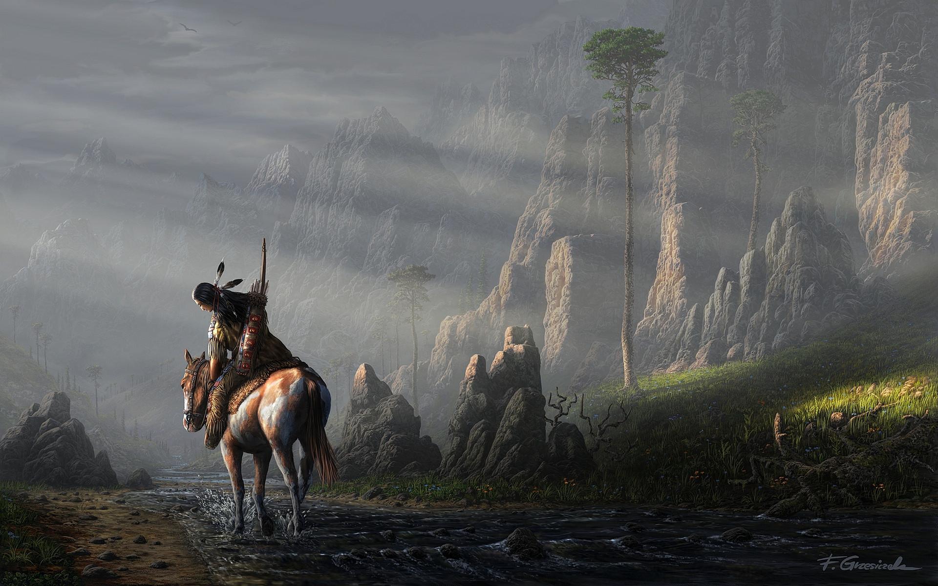Hd Wallpapers Horse Wallpaper Native American Wallpaper Hd