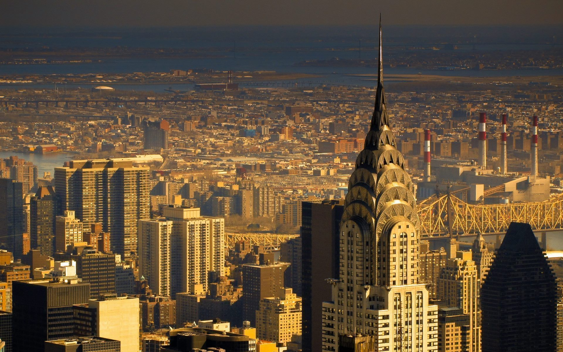 Chrysler Building In New York City Wide Hd Wallpaper - New York City , HD Wallpaper & Backgrounds