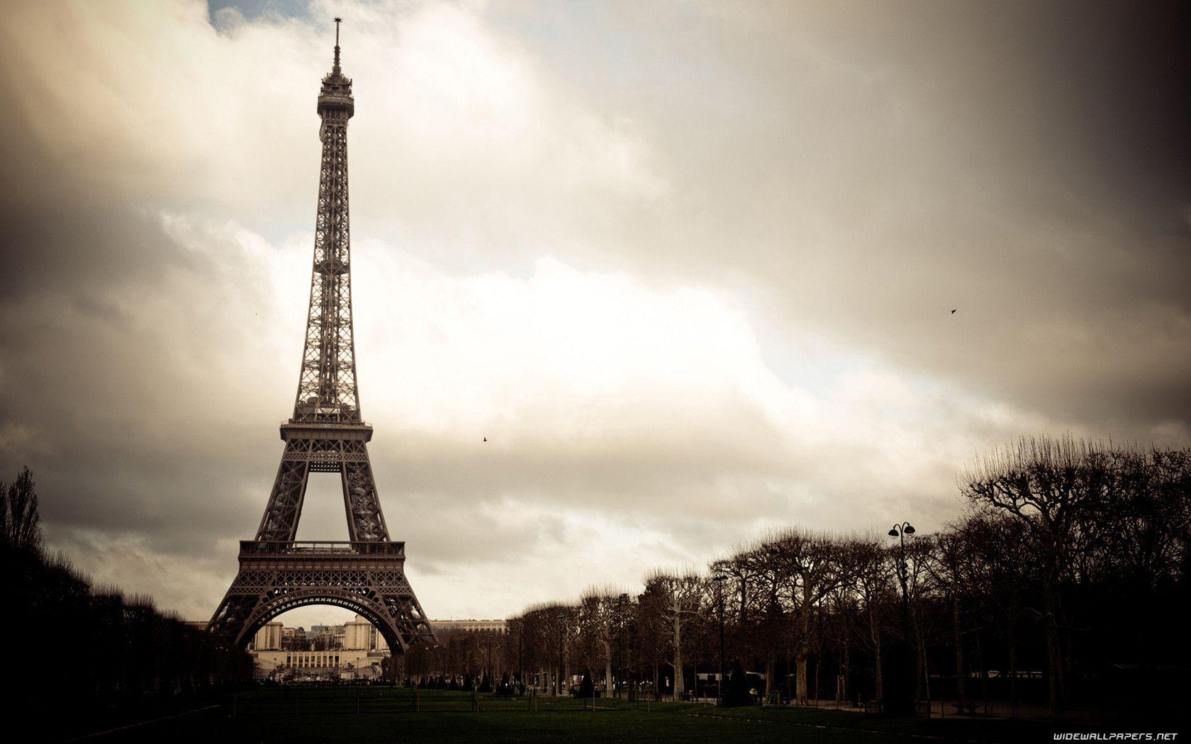 Vintage Paris Wallpaper Hd 1366x768 Wallpaper Eiffel Tower