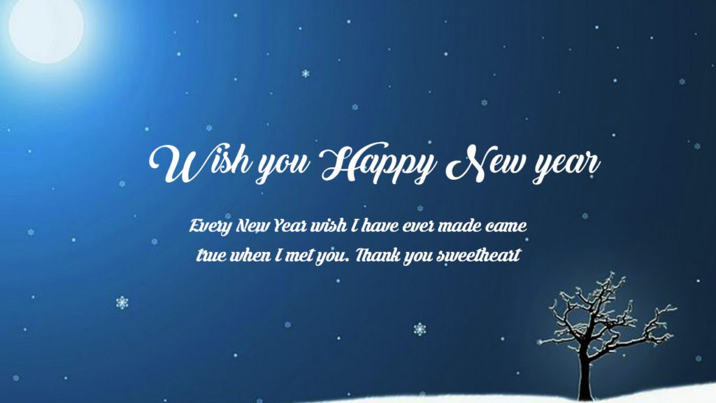 Advance New Year Messages Happy New Year 2019 Info - Wishing You A Happy New Year 2017 , HD Wallpaper & Backgrounds