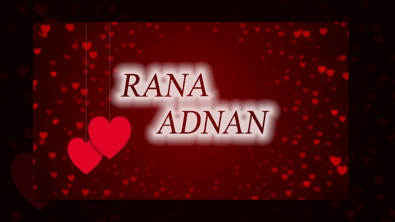 Ranaadnan Name Whatsapp Status Heart 1101236 Hd