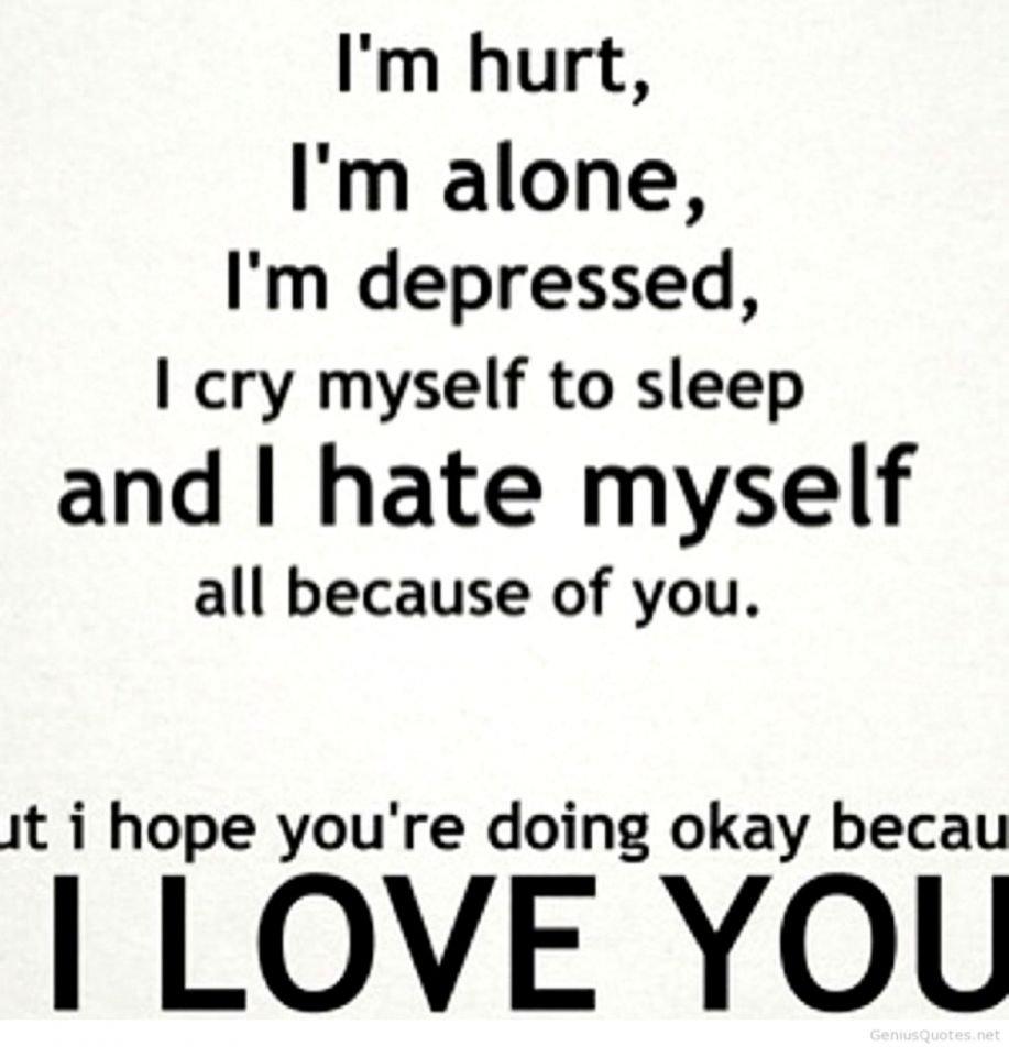 Sad Broken Heart Quotes For Her Sad Heart Broken Love - Broken