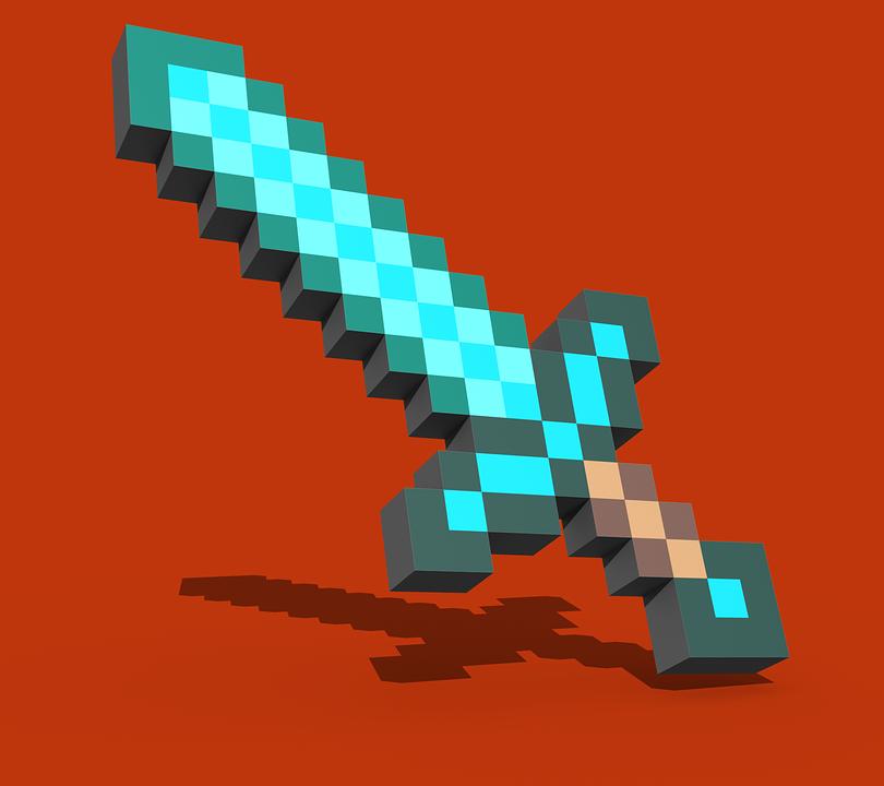 Wallpaper Minecraft Sword Minecraft Steve Diamond Armor