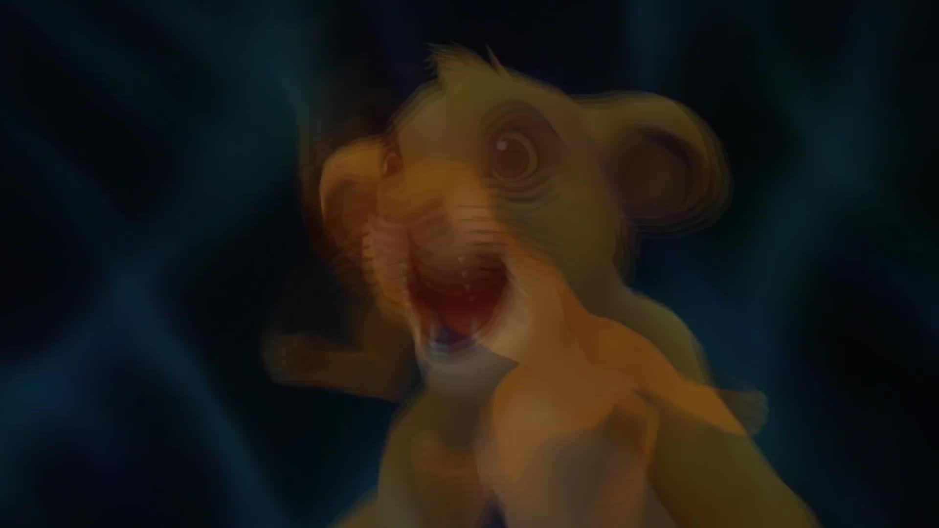 Kingdom Hearts 2 Hd Final Mix Movie 60fps 1080p Gif - Lion King Kingdom Hearts Gif , HD Wallpaper & Backgrounds