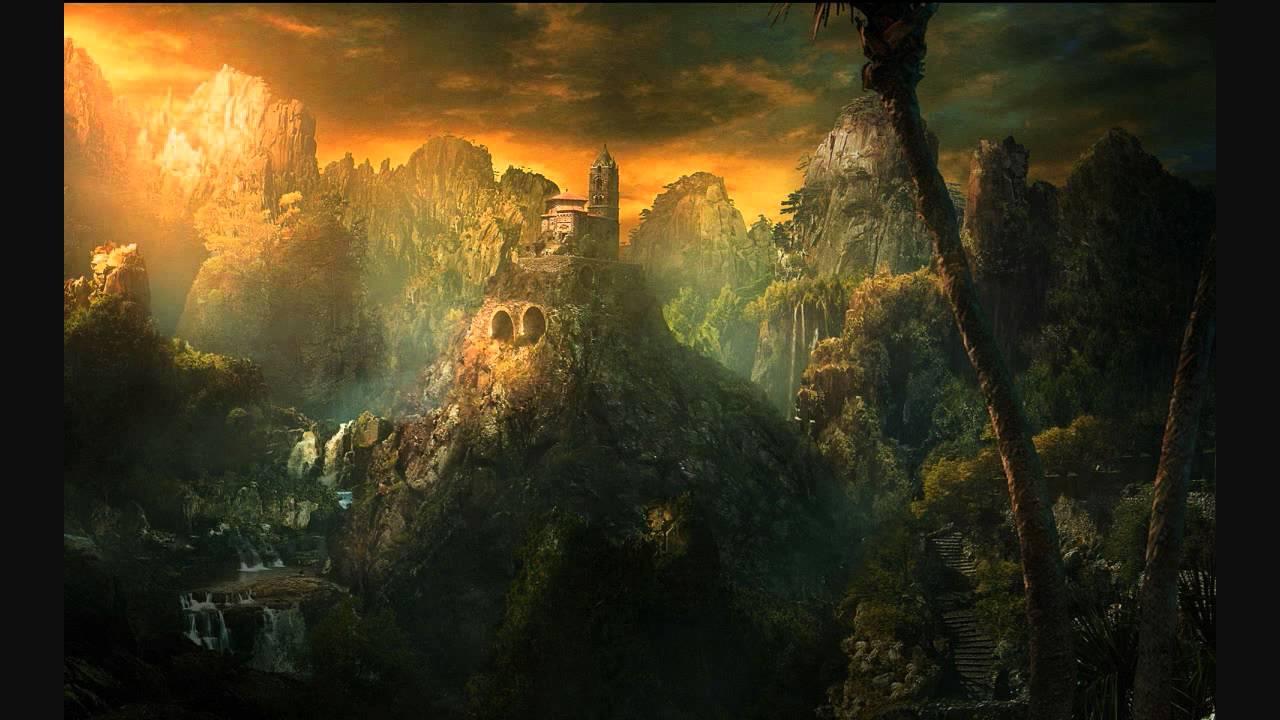 Desktop Background Fantasy Landscape , HD Wallpaper & Backgrounds