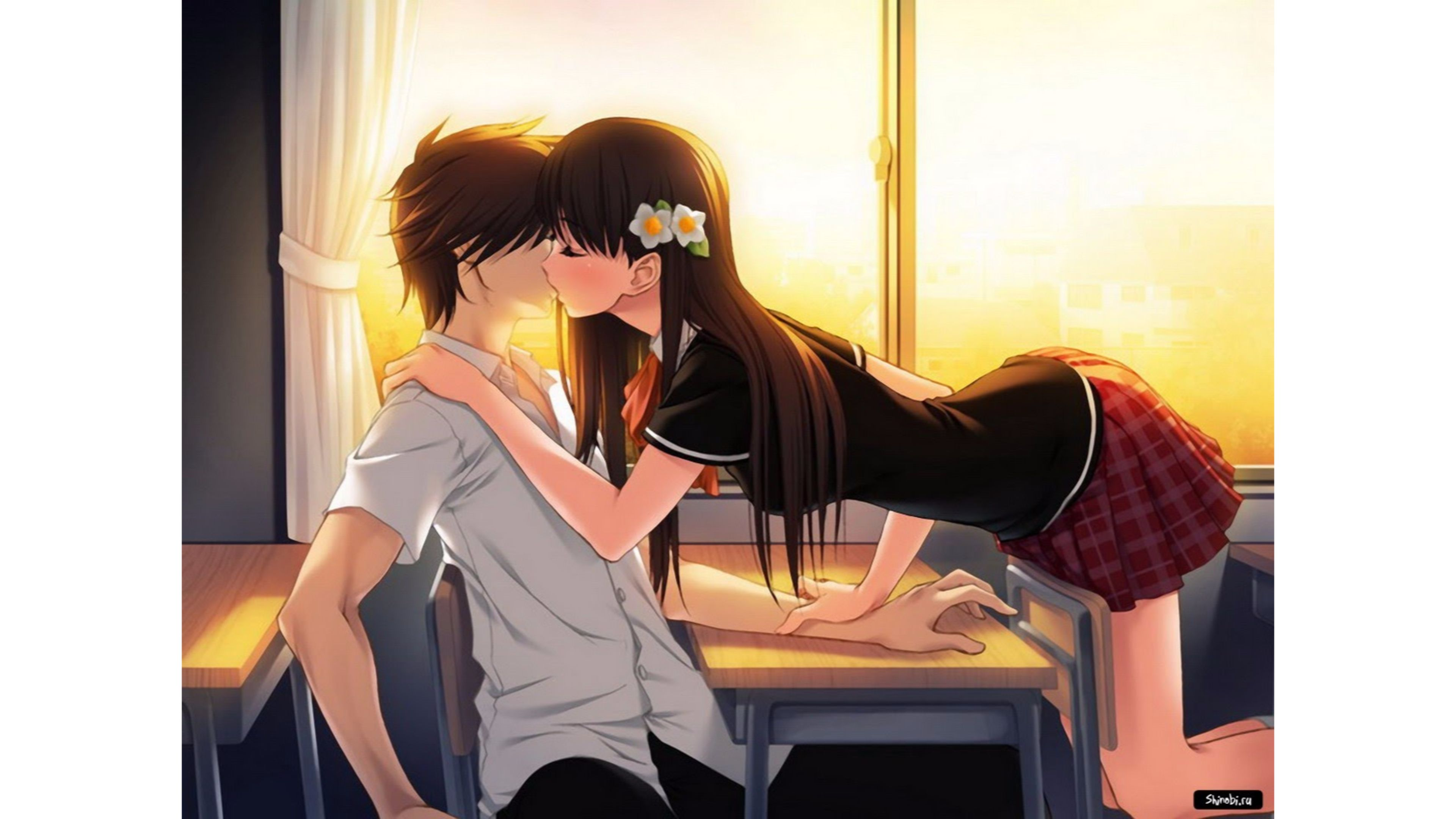 12+ New Anime Kiss Wallpaper - Sans Wallpaper Keren