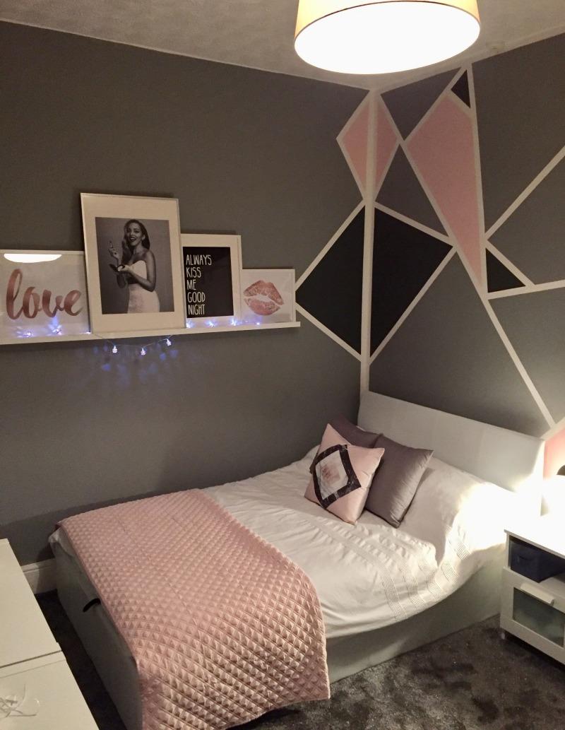 61 Fun And Cool Teen Bedroom Ideas - Teenage Pink And Grey ...