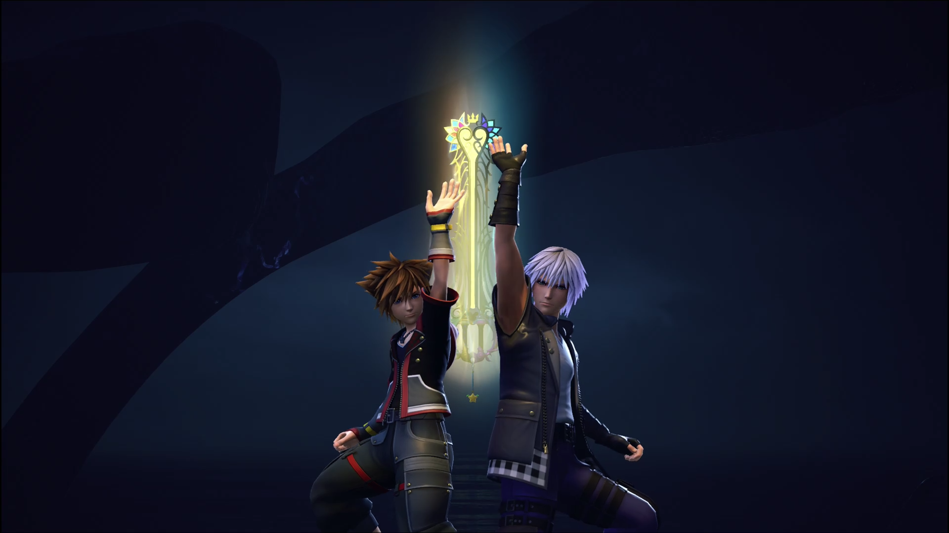 Kh3 Kh3 Spoiler I Made A Wallpaper Out Of One Of Sora And