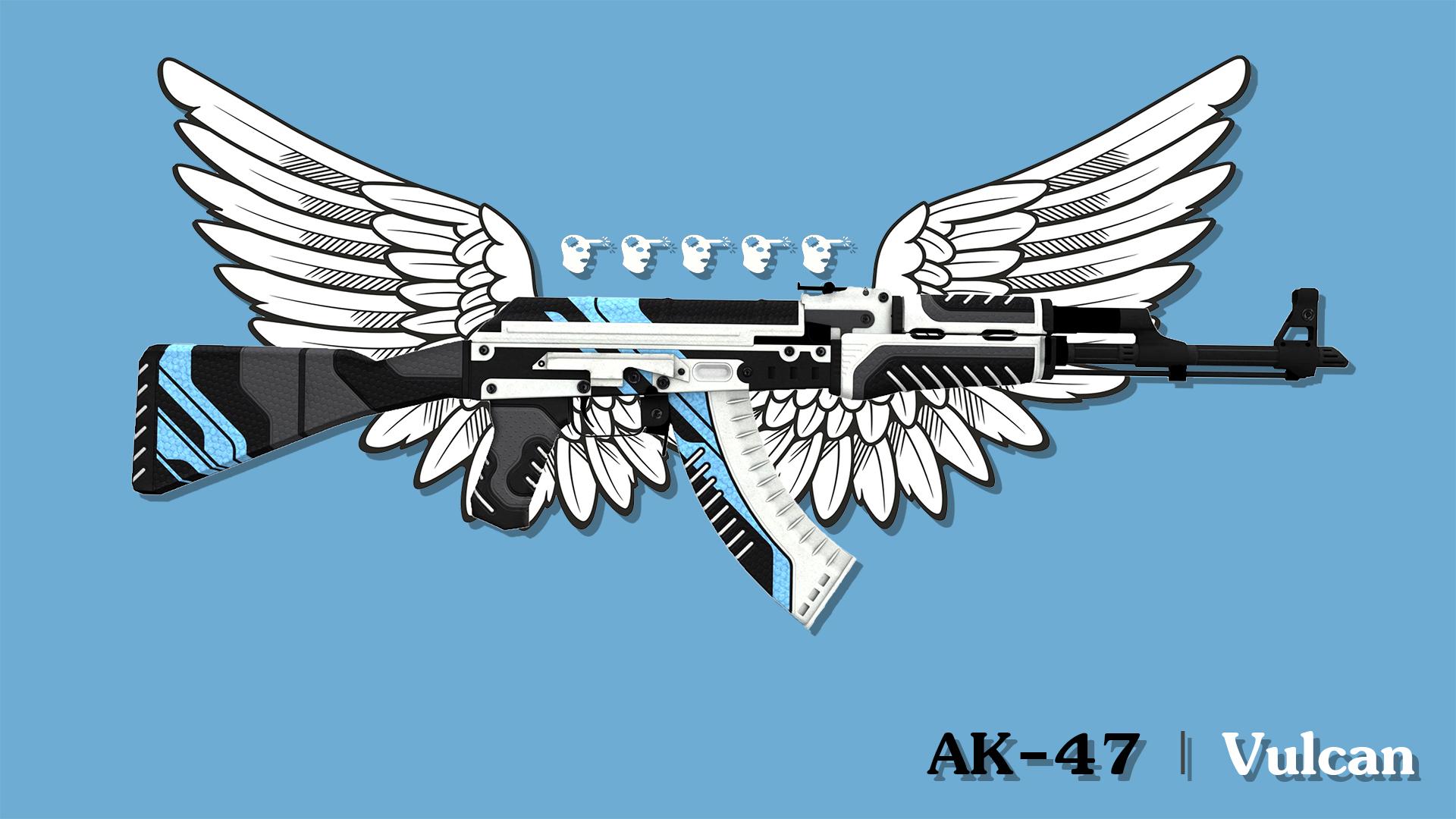 Vulcan Wallpaper - Ak 47 Vulcan Background , HD Wallpaper & Backgrounds