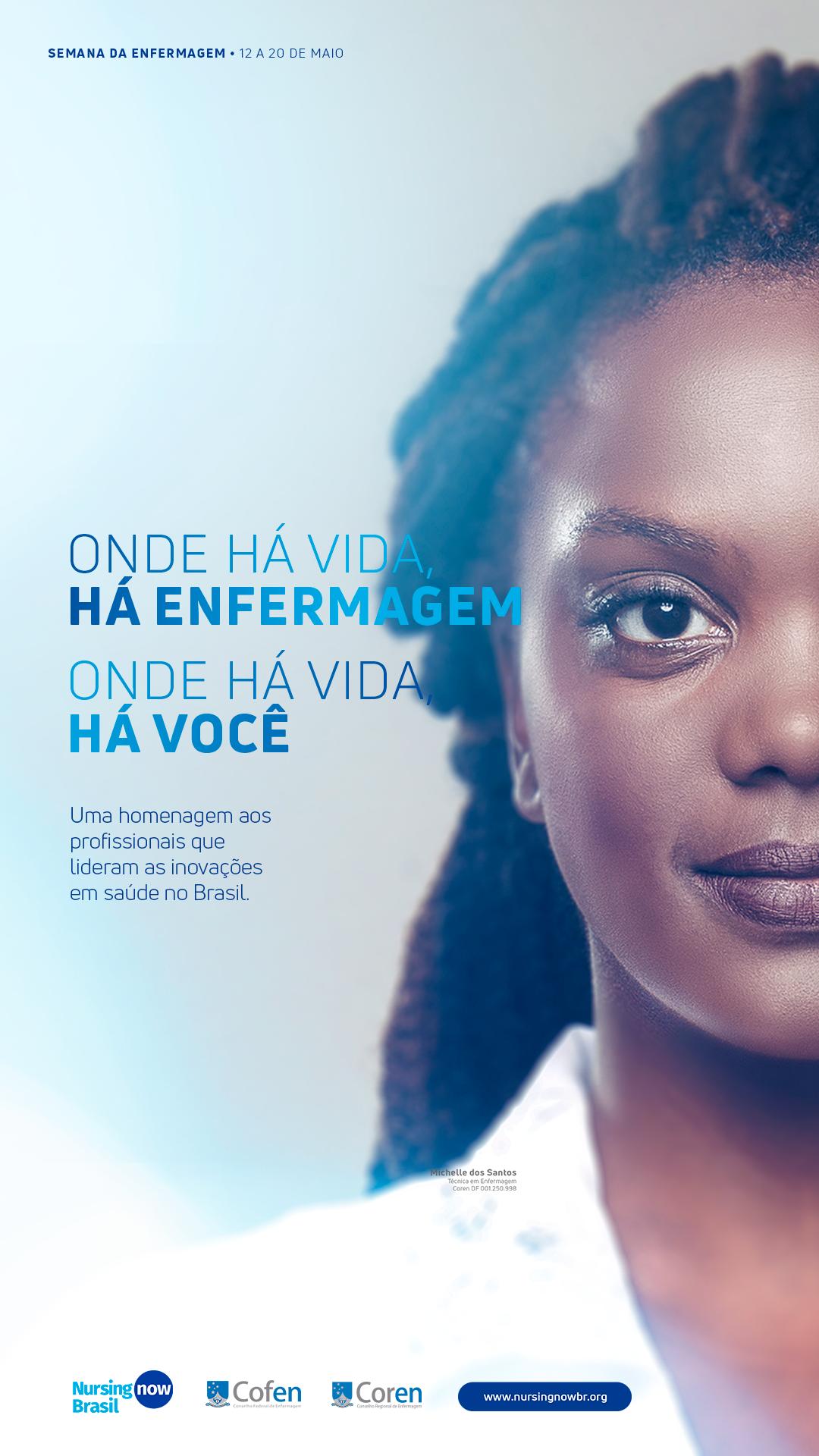 Você Também Pode Atualizar Sua Capa Do Facebook Com - Nursing Now Brasil , HD Wallpaper & Backgrounds