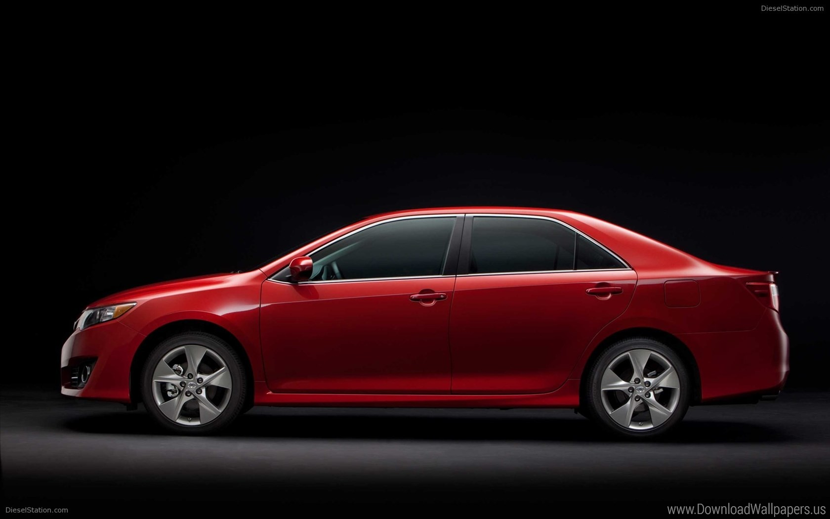 Download Widescreen - Toyota Camry 2014 Side View , HD Wallpaper & Backgrounds