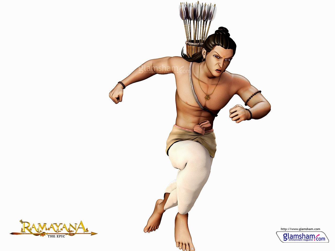 Amazon. Com: ramayana the epic (mythological, animated hindi film.