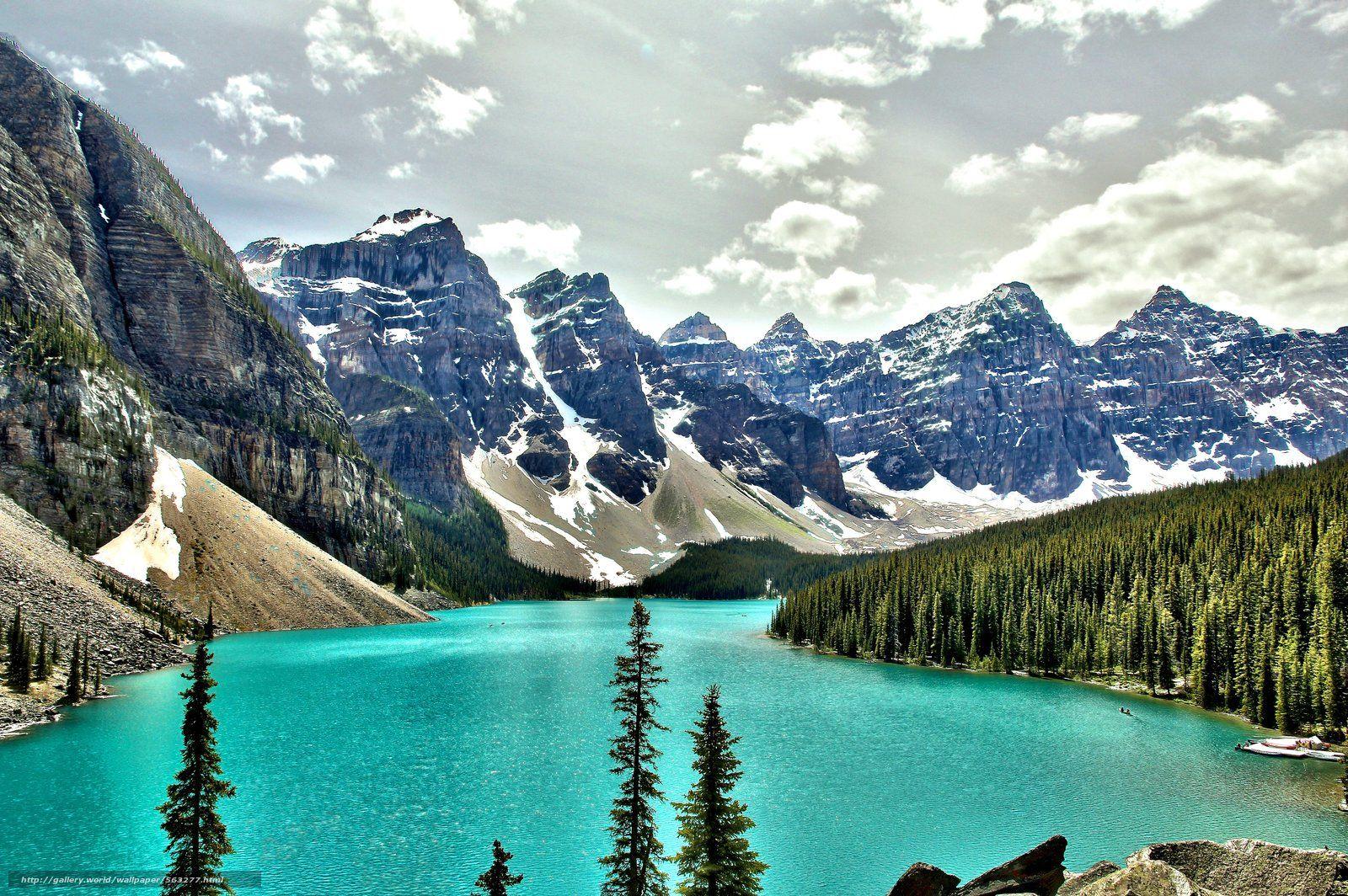 Banff National Park Wallpaper Moraine Lake 1118703 Hd