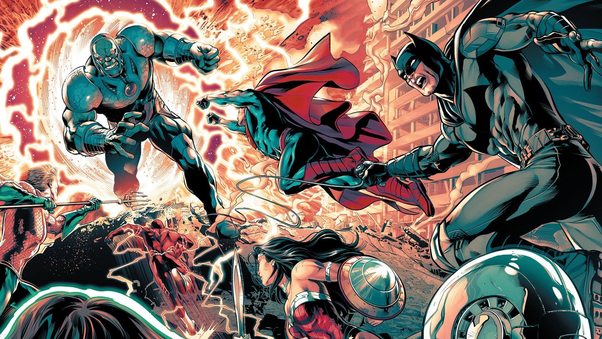1920x1080 Justice League Justice League Comic Art 1121858
