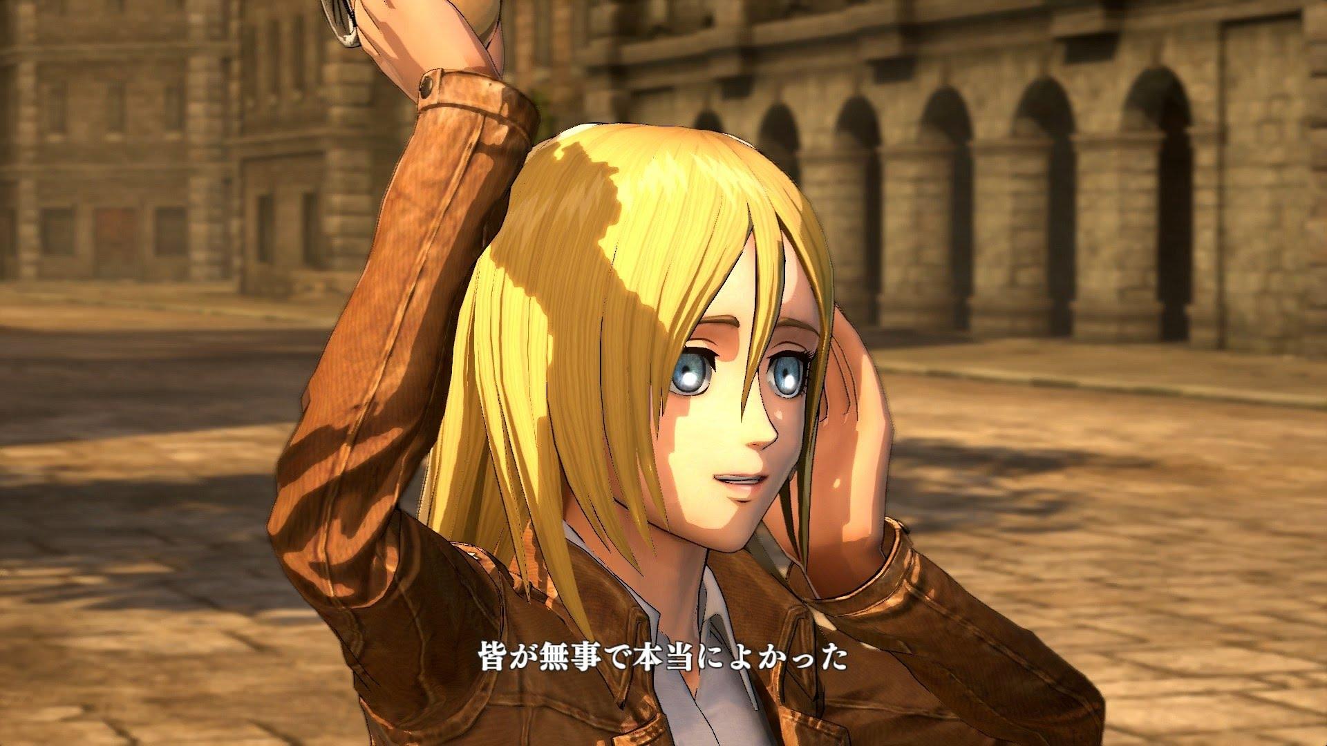 Historia Attack On Titan Game Historia 1122498 Hd Wallpaper Backgrounds Download