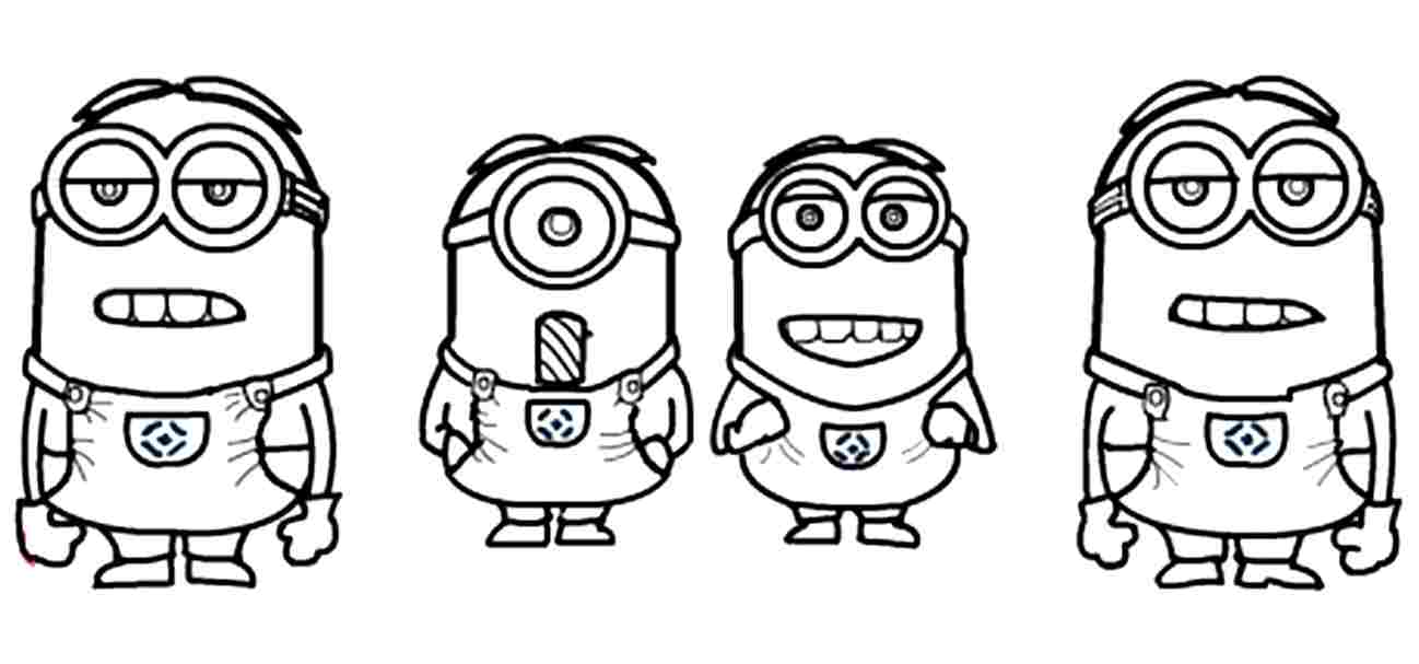 Free Despicable Me Coloring Pages, Download Free Clip Art, Free ... | 607x1298