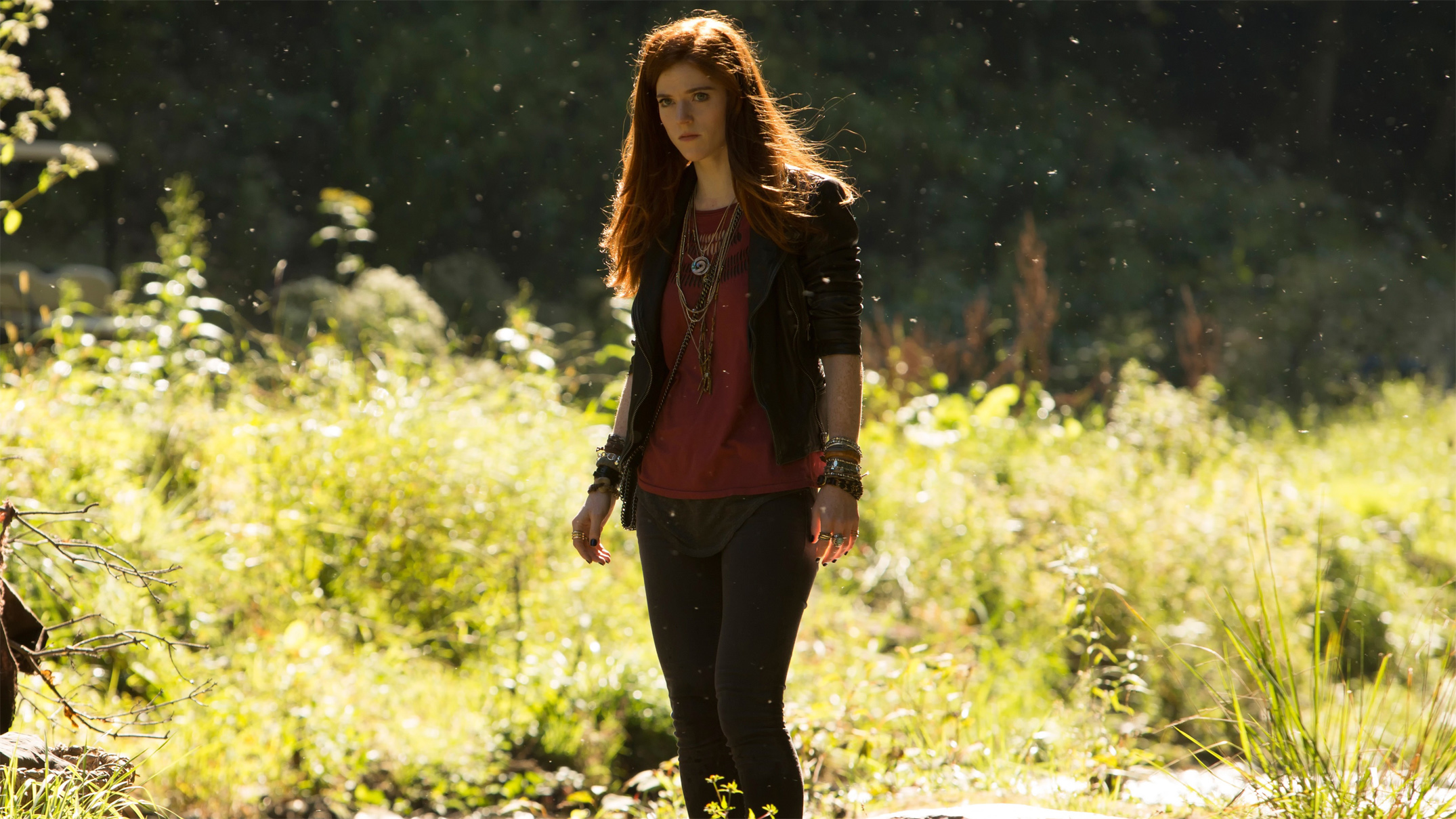#women Outdoors, #rose Leslie, #redhead, Wallpaper - Last Witch Hunter Rose , HD Wallpaper & Backgrounds