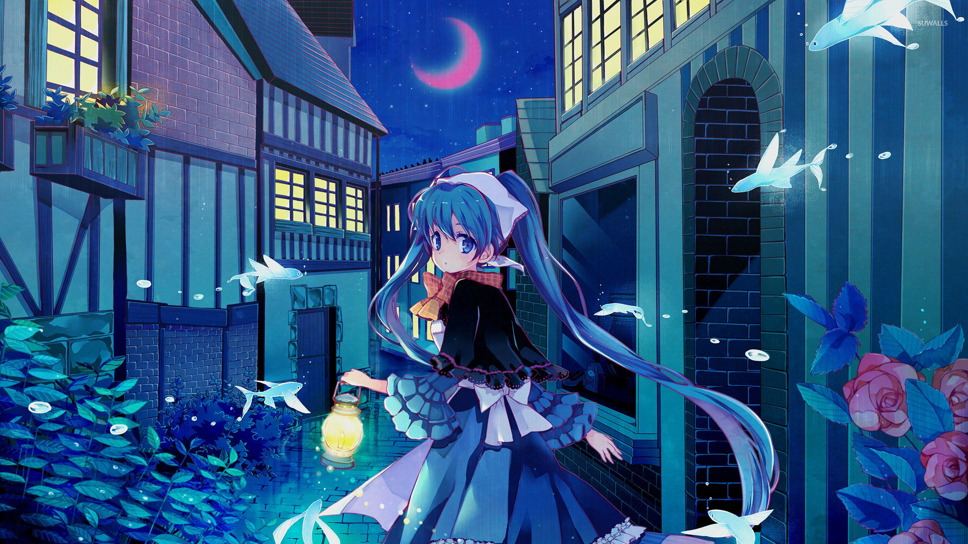 Anime Hatsune Miku Stock Cool Desktop Wallpaper Pc Hatsune