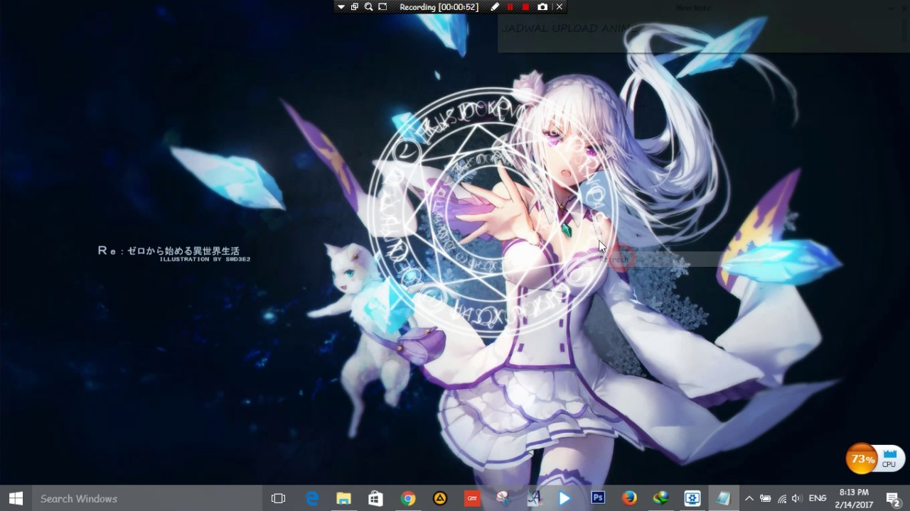 Youtube Premium Re Zero Emilia Wallpaper Engine 1133822 Hd