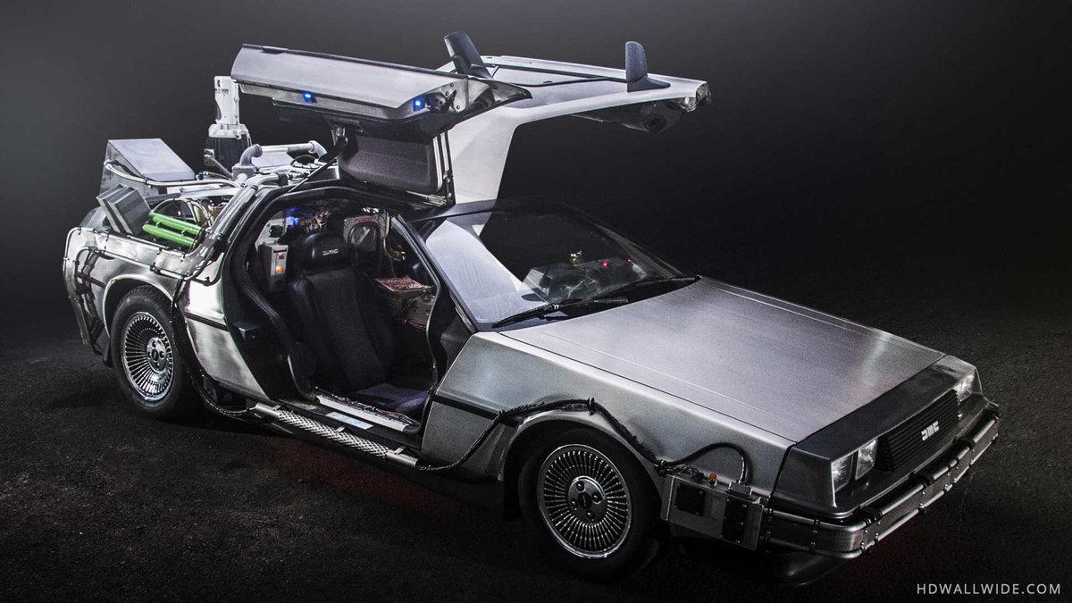 Back To The Future Delorean , HD Wallpaper & Backgrounds