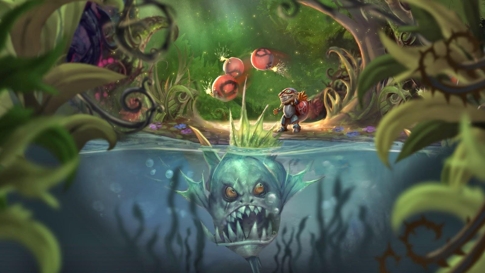 Volibear League Of Legends Wallpaper Volibear Desktop League Of Legends Belt Hd Wallpaper Backgrounds Download