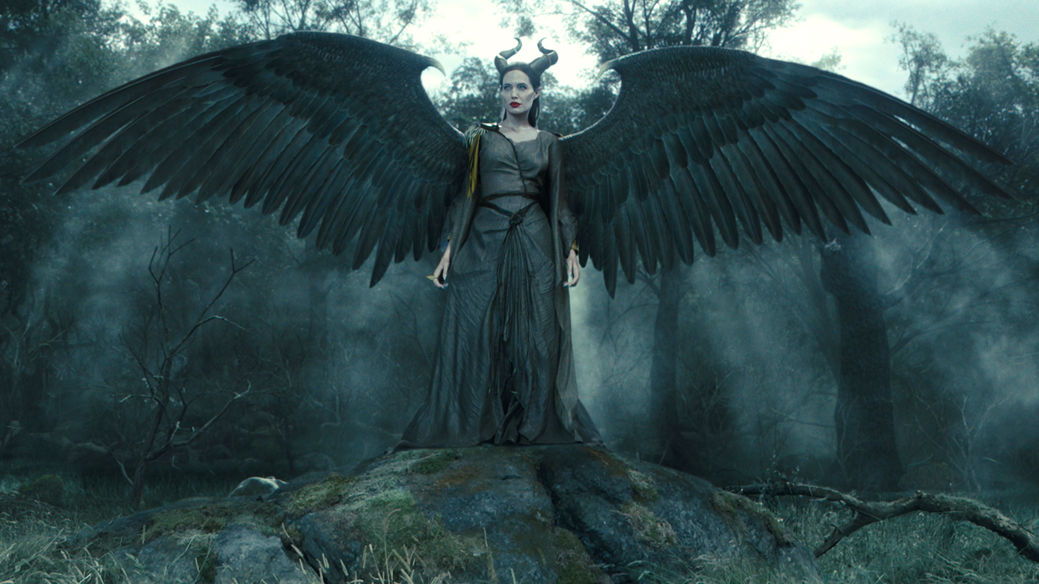 Maleficent Wallpapers - Maleficent's Wings , HD Wallpaper & Backgrounds