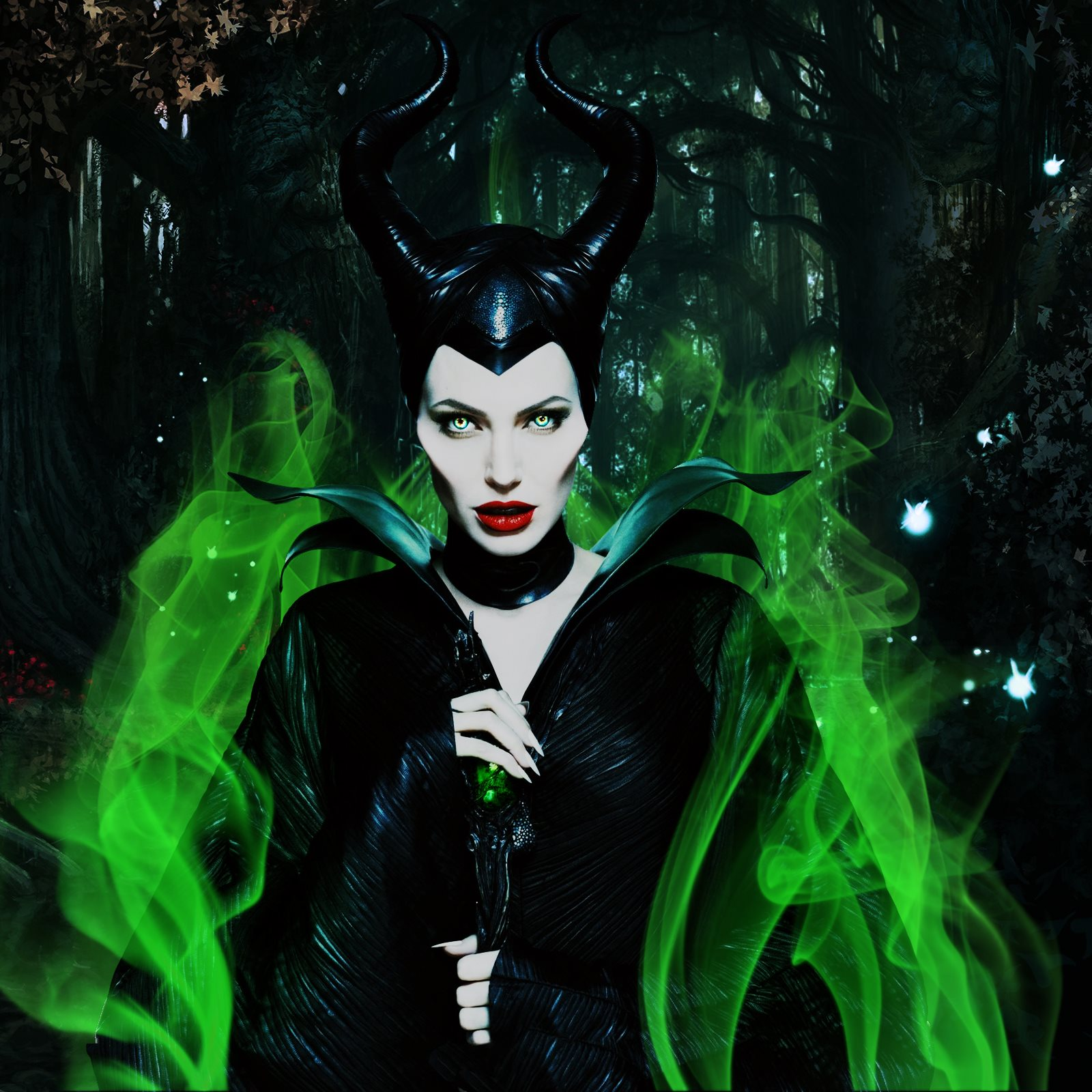 Maleficent Backgrounds Maleficent Wallpaper - Maleficent Angelina Jolie , HD Wallpaper & Backgrounds
