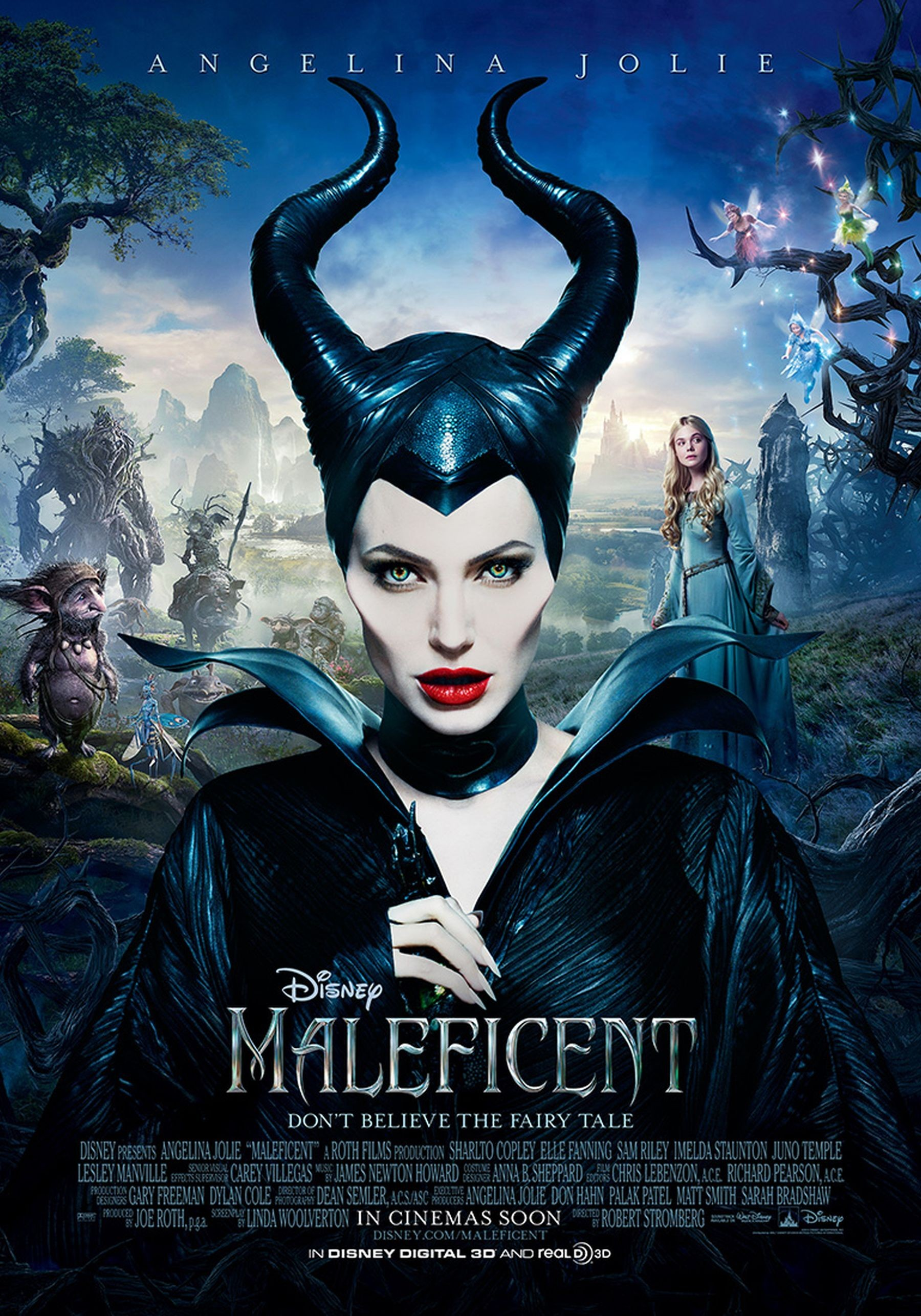 Maleficent Costume Pattern - Magnificent Film Angelina Jolie , HD Wallpaper & Backgrounds
