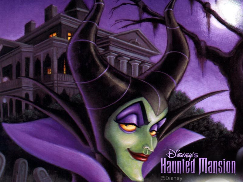 Maleficent Haunted Mansion Picture Maleficent Haunted - Maleficent In The Haunted Mansion , HD Wallpaper & Backgrounds