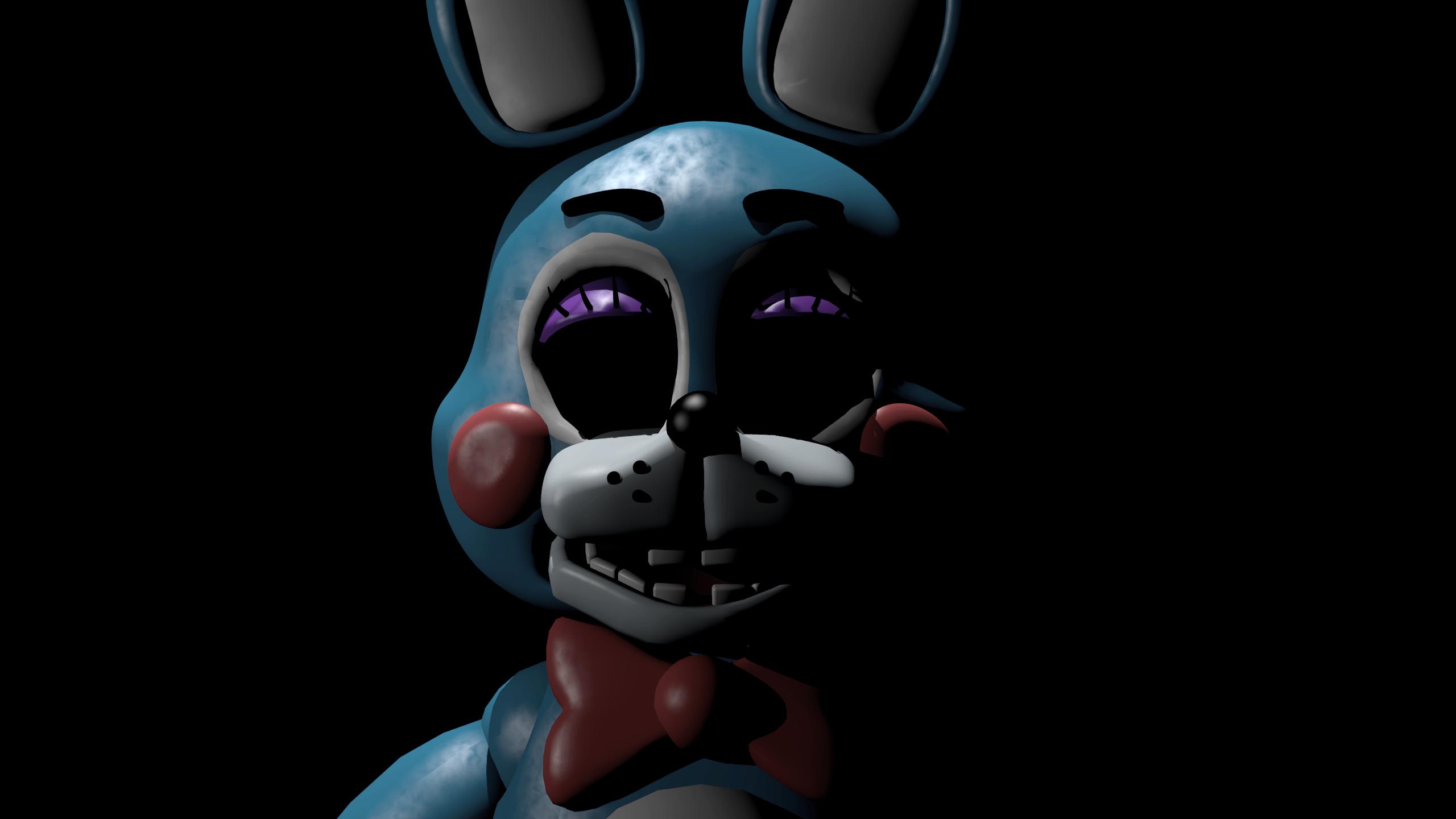 Toy Bonnie Wallpaper Fnaf Toy Bonnie Creepy 1136353