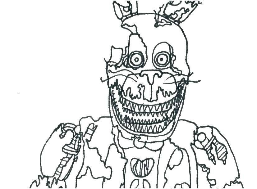 Five Nights At Freddys Coloring