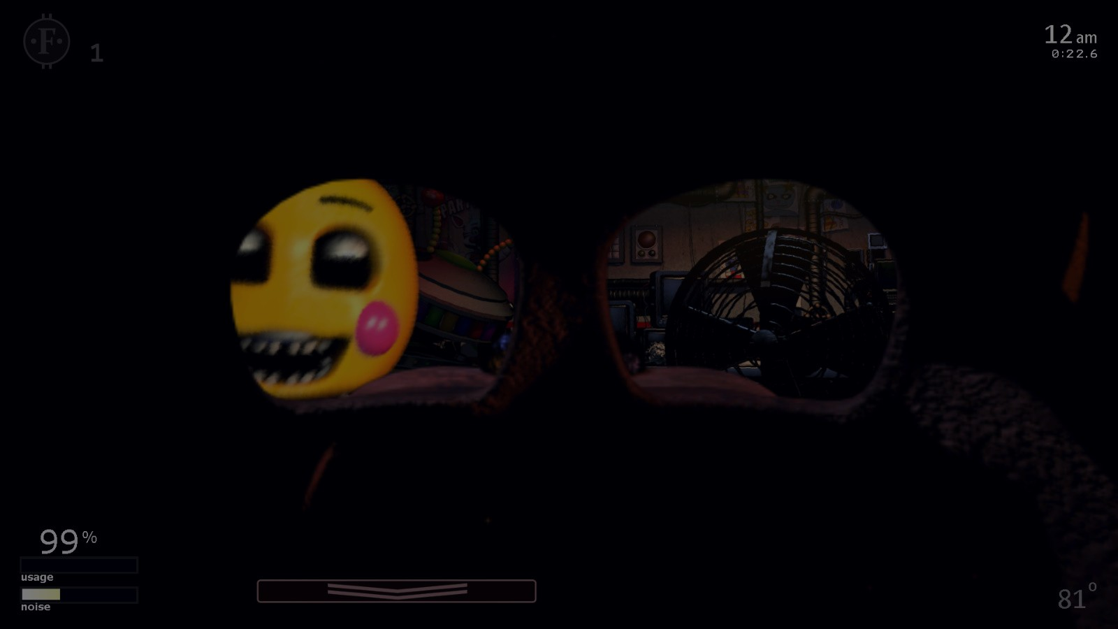 Fnaf 2 Drawings toy chica in your office - fnaf 2 toy chica in office