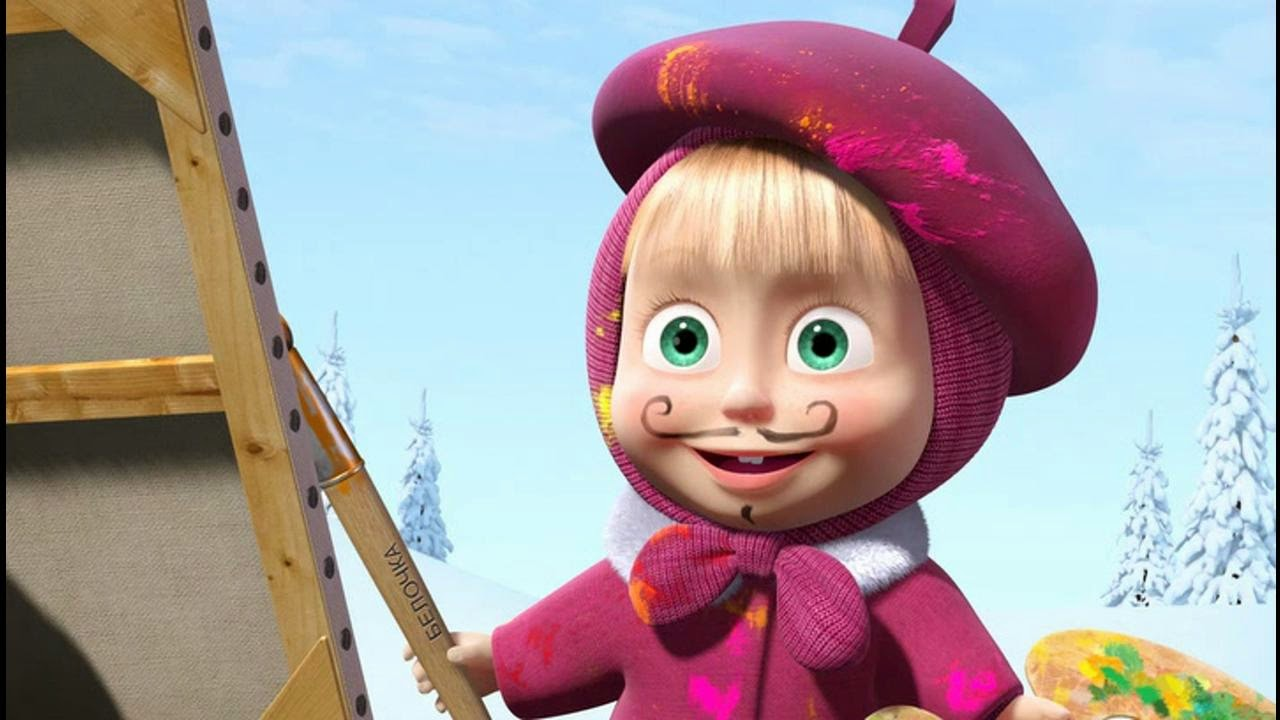Masha Wallpaper High Resolution Masha And The Bear