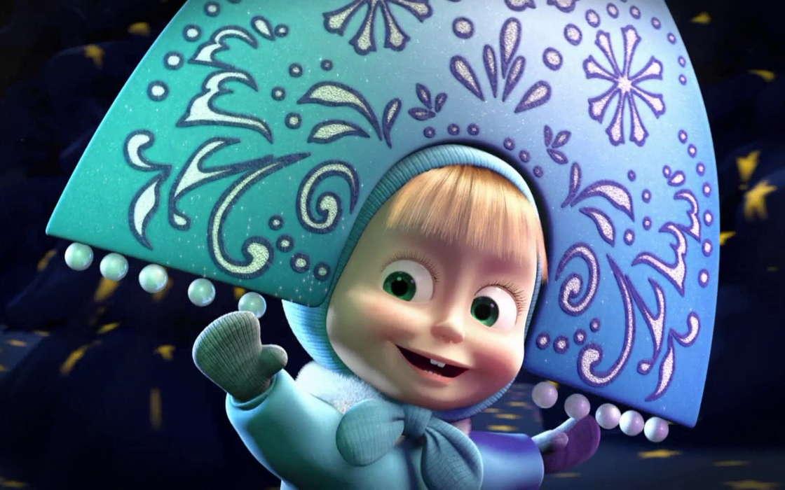 Download Mobile Wallpaper Cartoon Children Masha Masha And The Bear 1137388 Hd Wallpaper Backgrounds Download