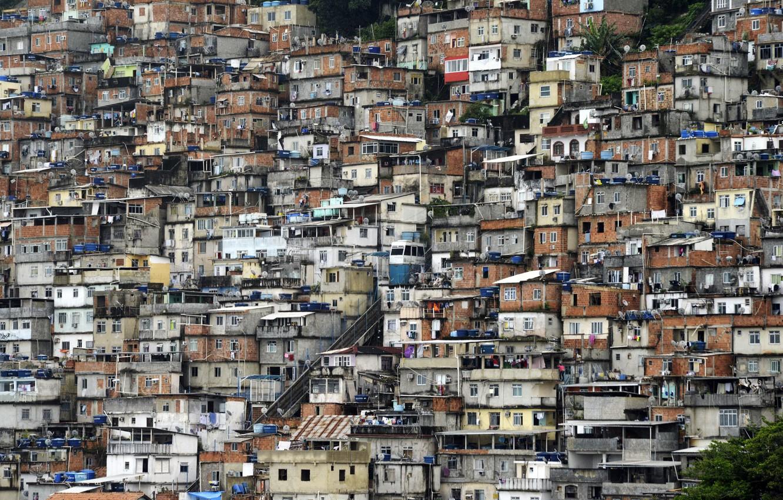 Photo Wallpaper Rio De Janeiro Favela Brasilien Favela