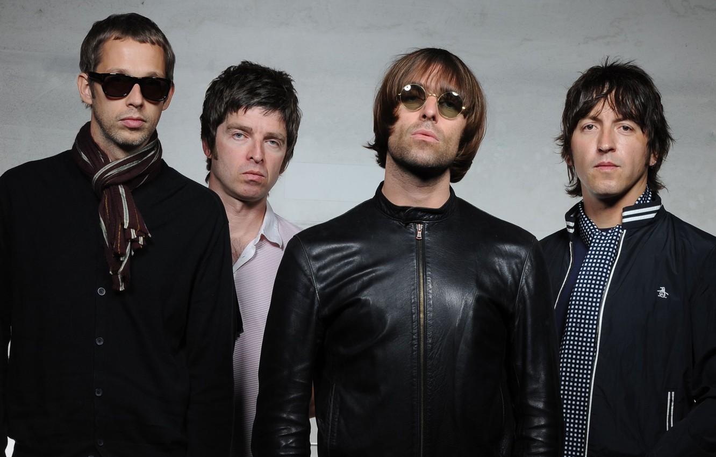 Photo Wallpaper Group, Rock, Oasis, Noel Gallagher, - Oasis Band Member , HD Wallpaper & Backgrounds
